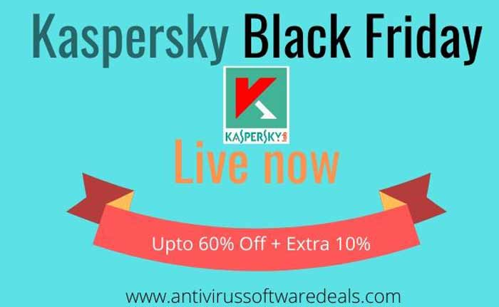 Kaspersky Black Friday Live now