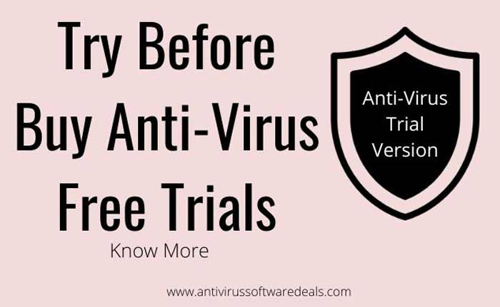 Try Antivirus Free Trials