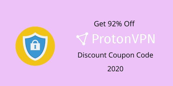 Get 92% Off ProtonVPN Discount Code 2020