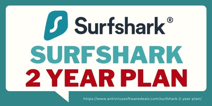 surfshark 2 year plan