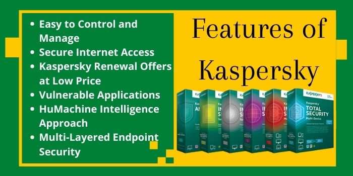 Features of Kaspersky