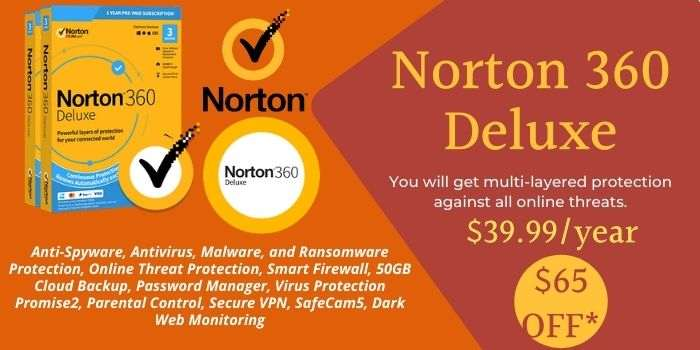 Norton 360 Deluxe Coupon Code
