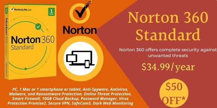 Norton 360 Standard Coupon Code