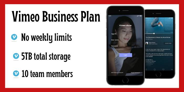 Vimeo Business Coupon