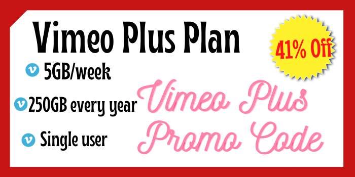 Vimeo Plus Discount