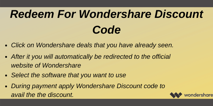 Wondershare Discount Code - Reedme Wondershare Discount Code
