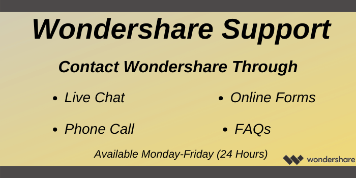 Wondershare Voucher Code - Wondershare support