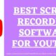 Best screen recording software for Youtube www.antivirussoftwaredeals.com