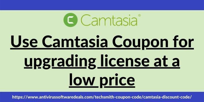 Camtasia Coupon Code