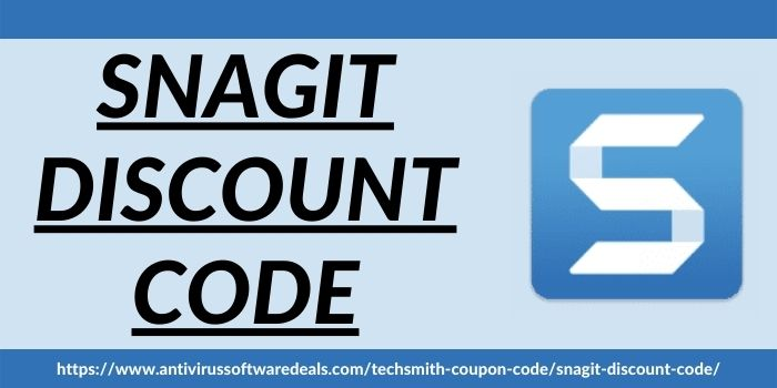 Snagit Discount Code www.antivirussoftwaredeals.com
