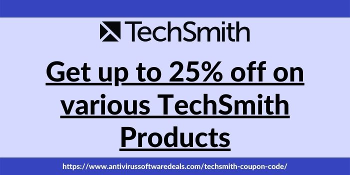 TechSmith Discount Code