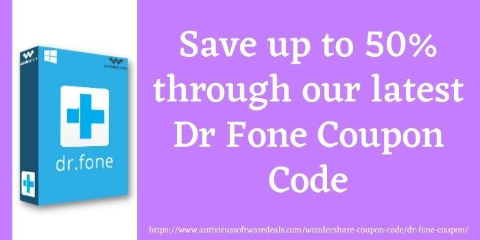 Wondershare Dr Fone Coupon