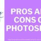 photoshop pros and cons