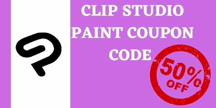 50% off Clip Studio Paint Coupon Code