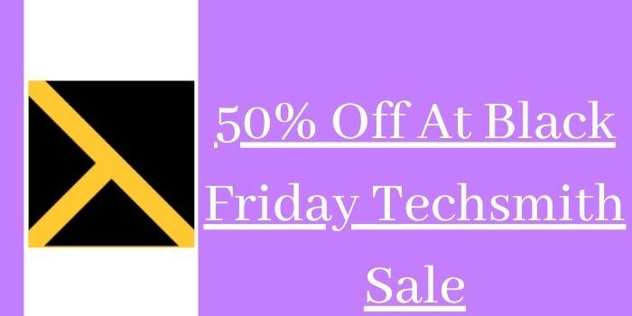 Techsmith Black Friday Discount