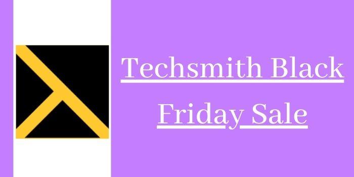 Techsmith Black Friday Sale